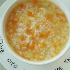 南瓜蘋果大米粥