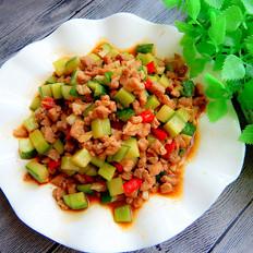 黃瓜醬肉丁