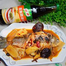 干燒鯽魚+