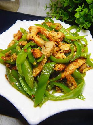 青椒炒鸡排的做法