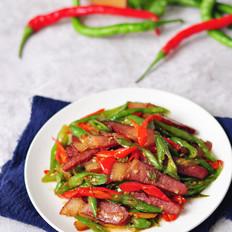 秦椒炒腊肉