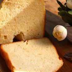 桔子啥样好吃超软一键式面包机面包的做法