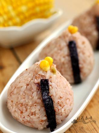 榨菜絲雙米飯團的做法