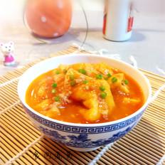 茄汁豆腐泡