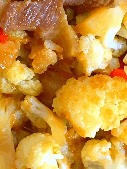 干鍋花菜,這樣做既簡單又好吃,一分鐘就能學會它