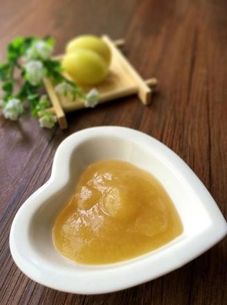 新疆小白杏果酱的做法