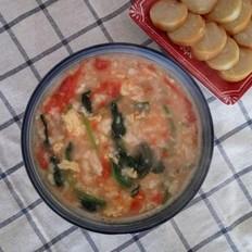 美味蔬菜疙瘩湯