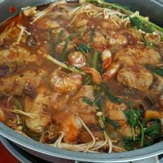 鸡翅龙虾焖烧锅