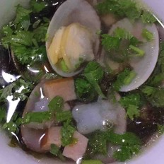 生蚝家里怎么做海鲜汤的做法