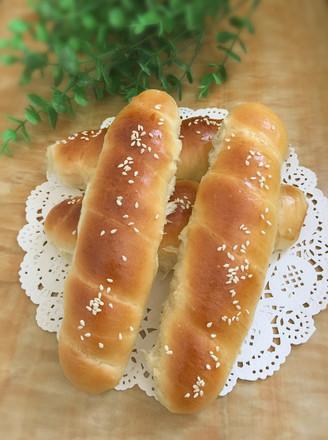 火腿腸面包卷的做法