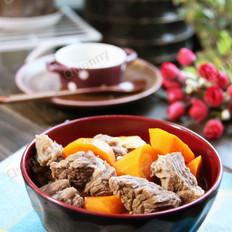 胡蘿卜煨牛肉