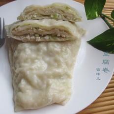 海蜇怎么拌好吃豆腐卷的做法