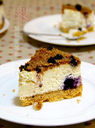 酥梨藍莓乳酪蛋糕的做法
