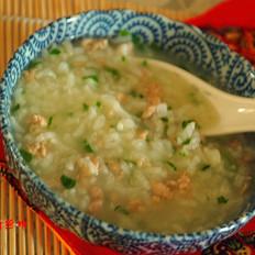 营养早餐-鸡茸蔬菜粥