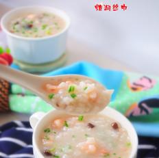 蝦仁香菇粥