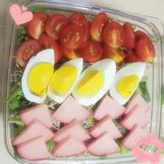 果蔬沙拉丨开学季,给你的宝宝一个鲜美的开始吧