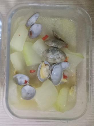 冬瓜蛤蜊丨天下第一鲜的做法