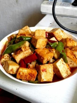 香辣豆腐的做法