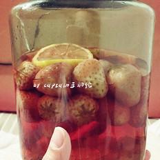 鲜香茹怎么做好吃草莓酒的做法