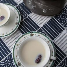 桂圆红枣奶