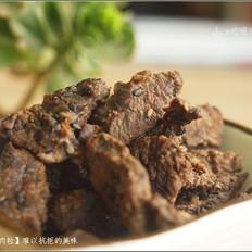 芝麻牛肉粒