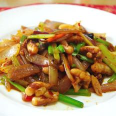 韓式辣炒魷魚