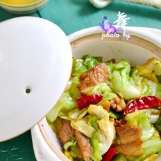 干鍋手撕包菜