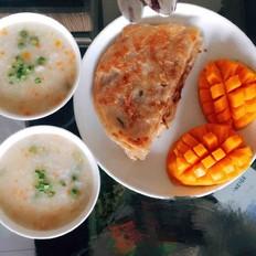 彩色鯽魚粥