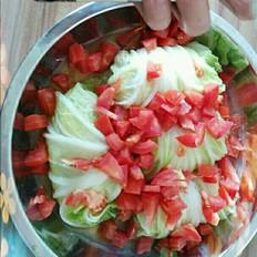木瓜糖水怎么做肉蒸白菜卷的做法
