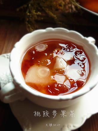 桃胶参果茶的做法