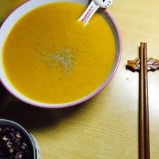 南瓜豆渣濃湯