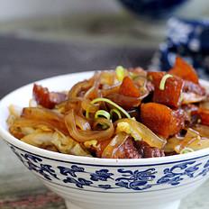 五花肉白菜炖粉条