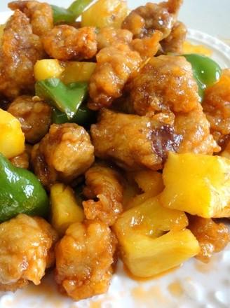 菠蘿咕嚕肉的做法