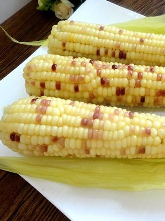 水煮水果玉米的做法