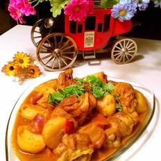 椰汁咖喱雞塊