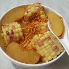 蟲草花糥玉米湯