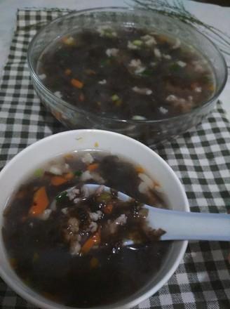 红萝卜紫菜汤的做法