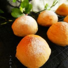 瓜拖子怎么做火龙果红糖面包的做法