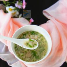火腿珍珠湯