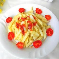 安徽阜阳辣糊怎么做的炸薯条的做法