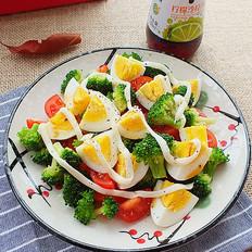 西蓝花鸡蛋沙拉