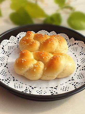 一股辫子面包的做法