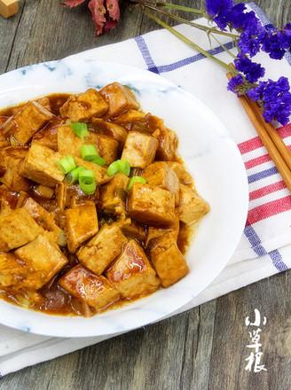饭店超级下饭大众菜熘酱豆腐的做法