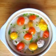 糖醋苞菜怎么做好吃肉圆冬瓜番茄汤的做法
