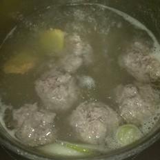 羊肉丸子湯