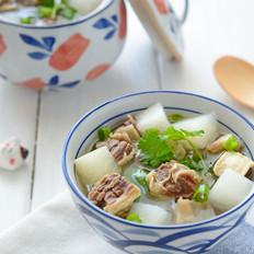 萝卜牛肉清汤