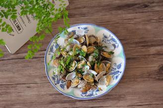 香炒蛤蜊的做法