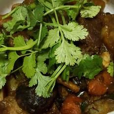 黄糯米饭怎么做红焖羊肉的做法