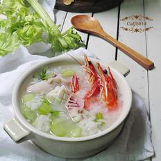 蘇泊爾芹菜海鮮砂鍋粥
