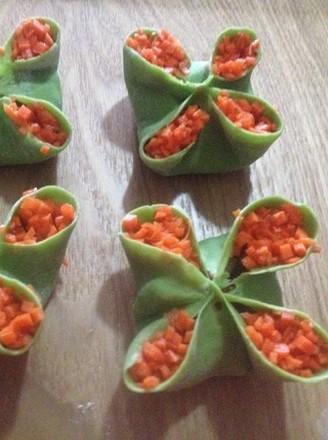 四喜饺子的包法的做法